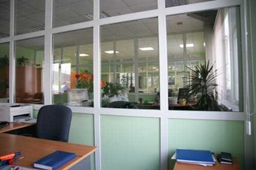 Офисные перегородки ПВХ в Орле