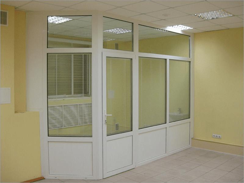 Офисные перегородки ПВХ