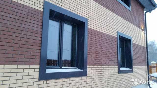 Внешние откосы на окна в Орле