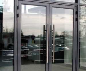 Алюминиевые входные двери в Орле