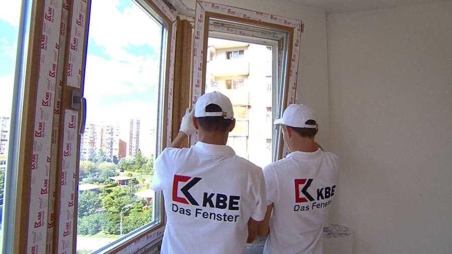Ламинированные Окна KBE