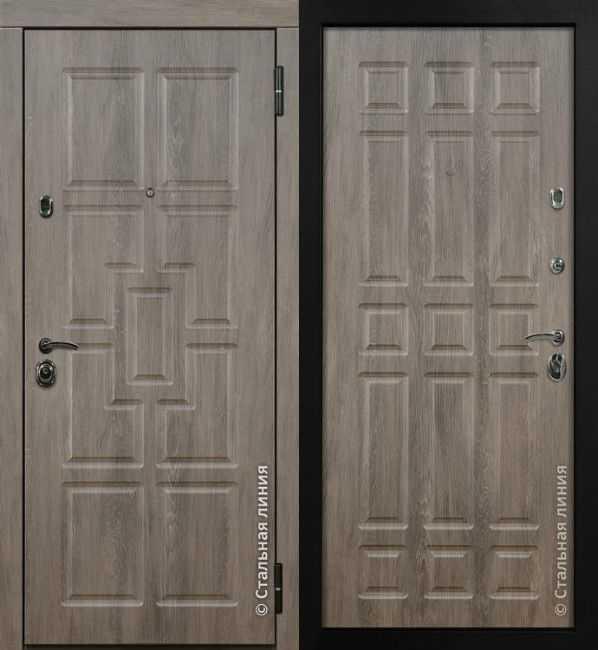 Дверь-сейф Шервуд 80.07.02