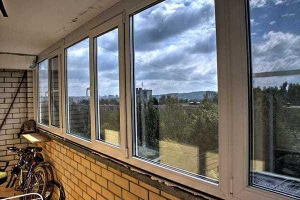 Остекление балкона в Орле