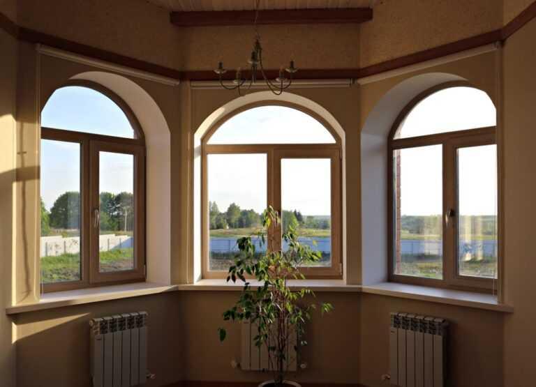 Арочные окна в Орле