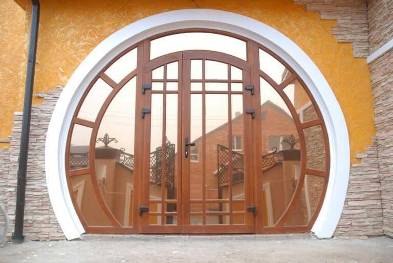 Круглые и овальные окна. Производство и монтаж