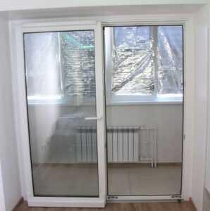 Портал - выход на балкон