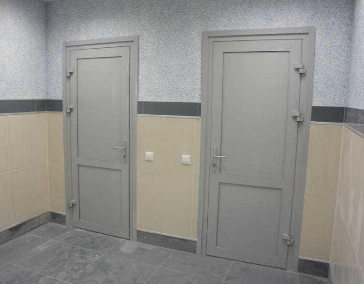 Пластиковые двери межкомнатные