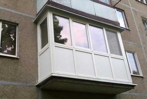 Остекление балконов в Орле