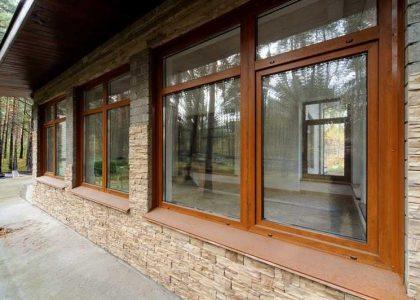 Ламинрованные окна