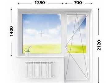 окно дверь размеры-min